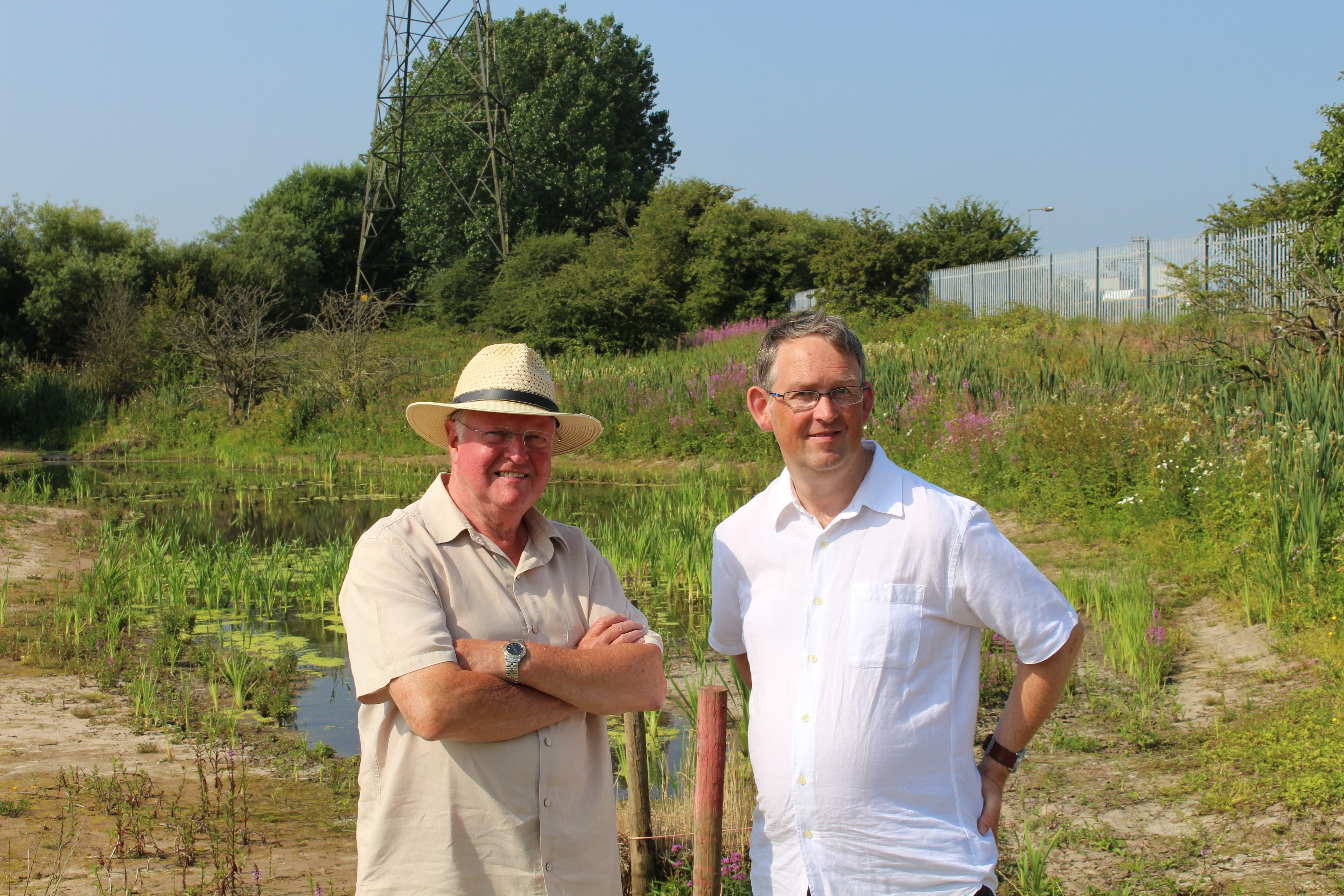 MP VISITS TWO WETLAND PROJECTS HELPING TO PREVENT FLOODING IN THORNTON